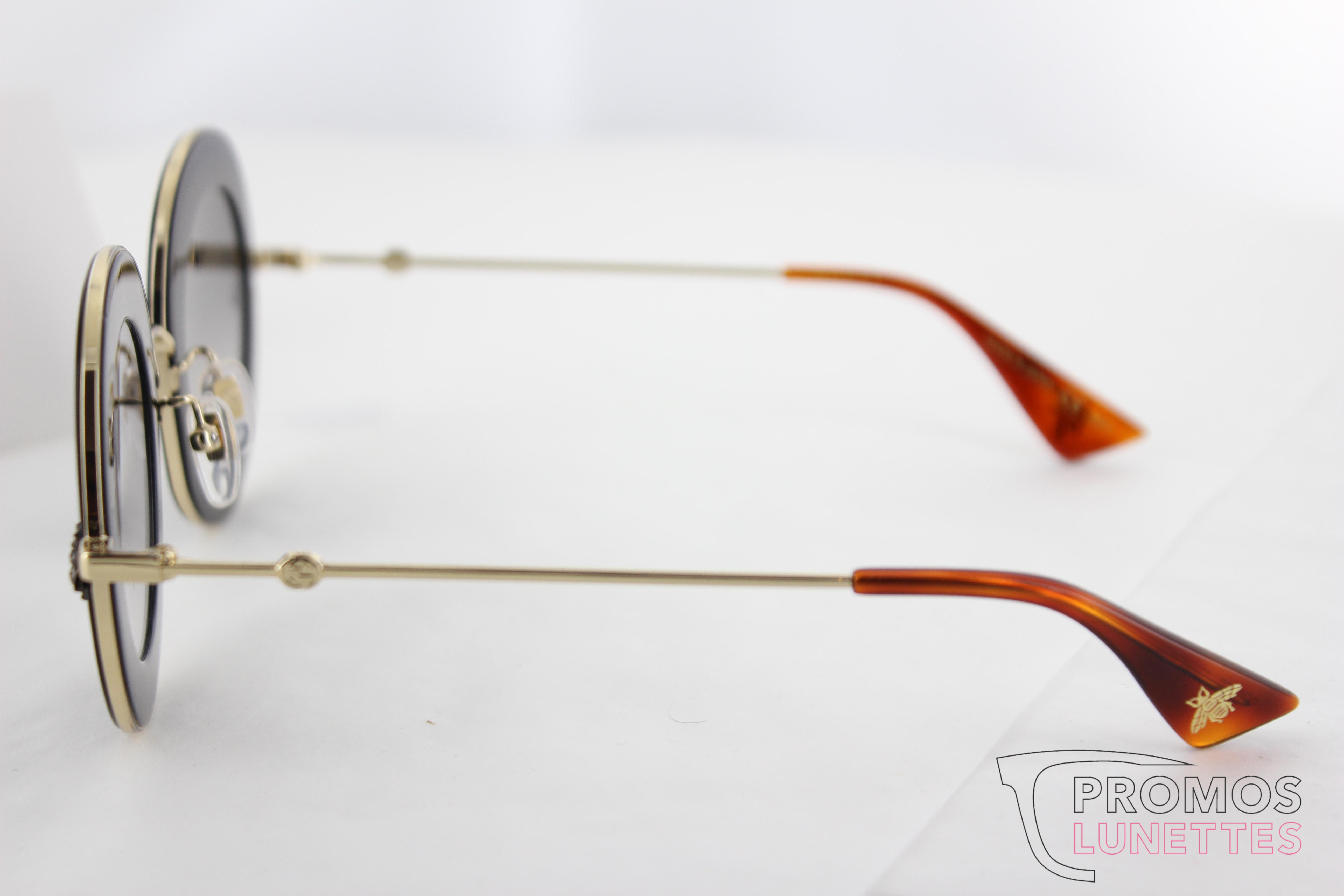 Lunette de soleil femme Gucci aveugle par amour   Une monture élégante et  raffinée feed5da3cf93