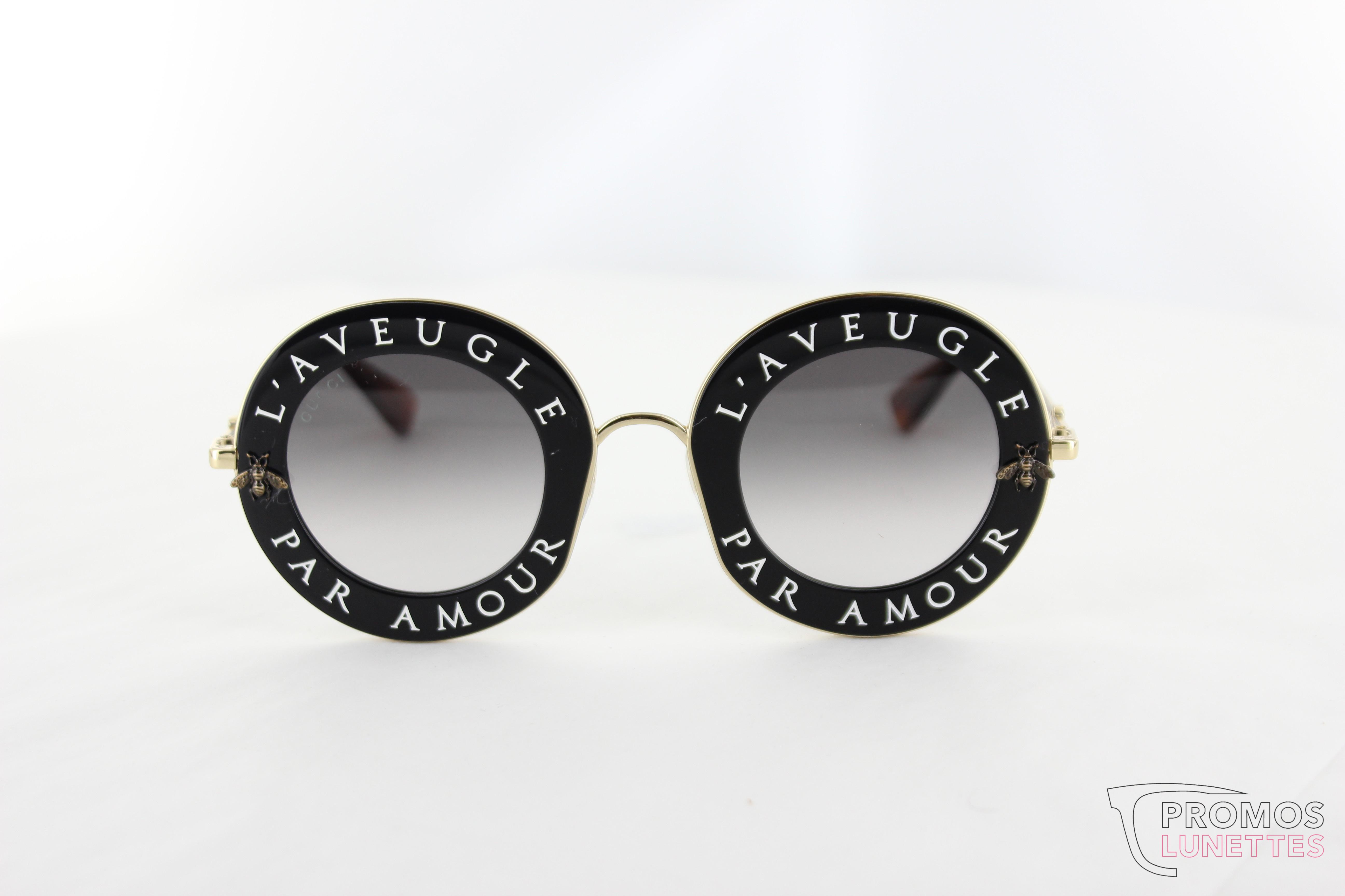 Vous connaissez les lunettes de soleil Gucci   Cette marque de luxe  italienne propose des montures solaires de qualité, au style unique qui ne  manquent pas ... e1e8b61842a6