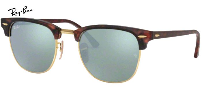 Lunette de soleil ray-ban clubmaster RB 3016 114530