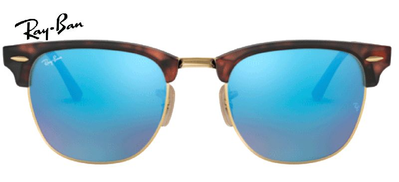 Ray-Ban CLUBMASTER 0RB3016 114517 SAND HAVANA/GOLD
