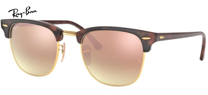 Lunette de soleil ray-ban clubmaster RB 3016 990/7O 49