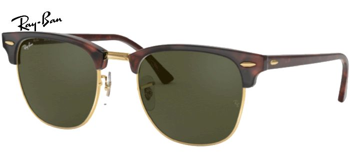 Lunette de soleil ray-ban Clubmaster RB3016 W0366 49