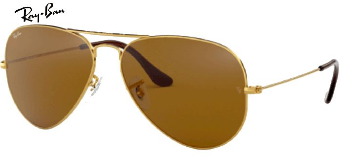 Lunette de soleil ray-ban aviator large metal RB 3025 001/33
