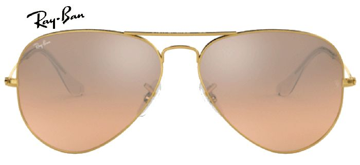 Ray-Ban 0RB3025 AVIATOR 001/3E T55