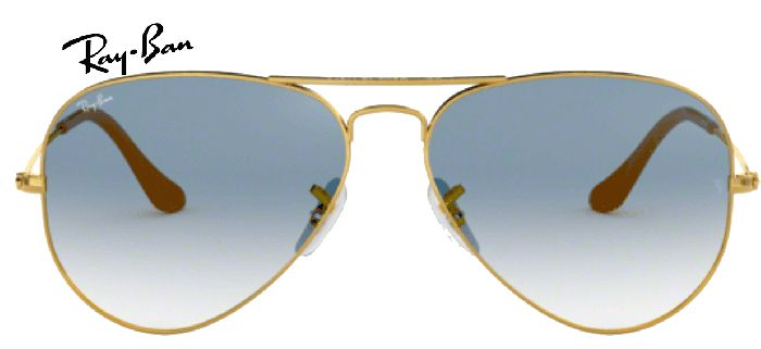 Ray-Ban 0RB3025 AVIATOR 001/3F T55