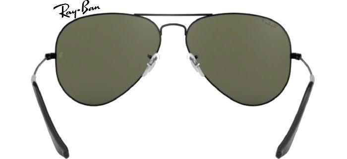 Lunettes de soleil Ray-Ban Aviator RB 3025 002/58 en taille 55