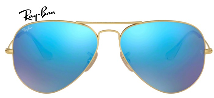 Lunette de soleil ray-ban aviator RB 3025 003/32 55