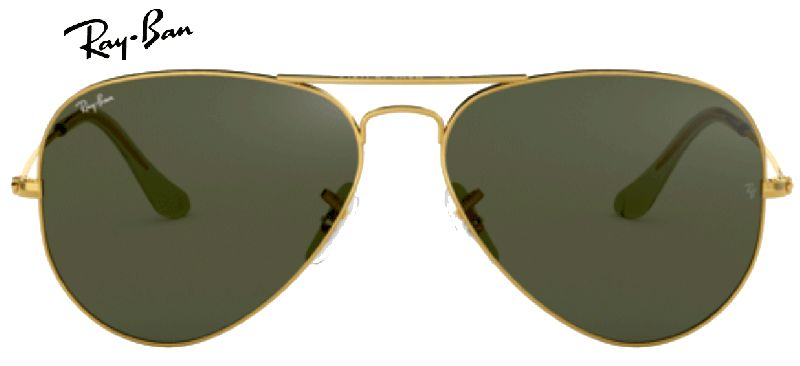 Ray-Ban 0RB3025 AVIATOR L0205 T58