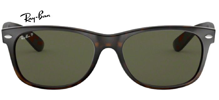 Ray-Ban 0RB2132 NEW WAYFARER Polarisé 902/58 T55