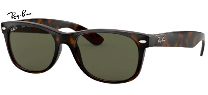 Ray-Ban 0RB2132 NEW WAYFARER Polarisé 902/58 T52