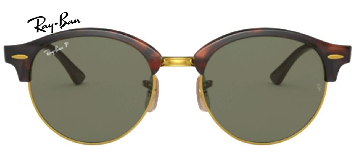 Ray-Ban polarisée 0RB4246 CLUBROUND 990/58