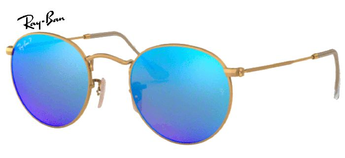 Ray-Ban round flash 0RB3447 112/4L