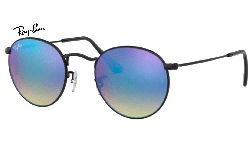 Ray-Ban round flash 0RB3447 002/40