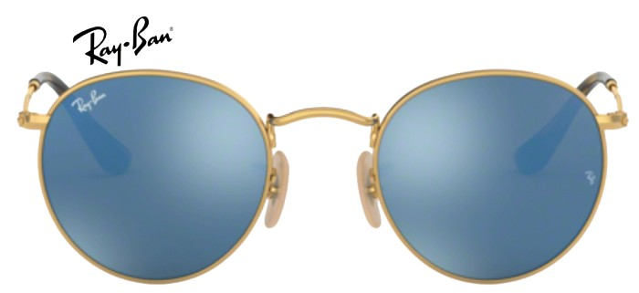 Ray-Ban 0RB3447 ROUND 001/9O T50
