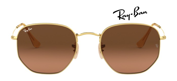 Ray Ban RB3548N 912443 HEXAGONAL