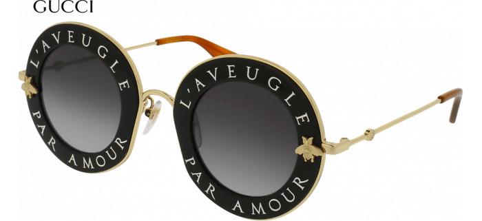Lunettes de soleil Gucci L'aveugle par amour GG0113S-001