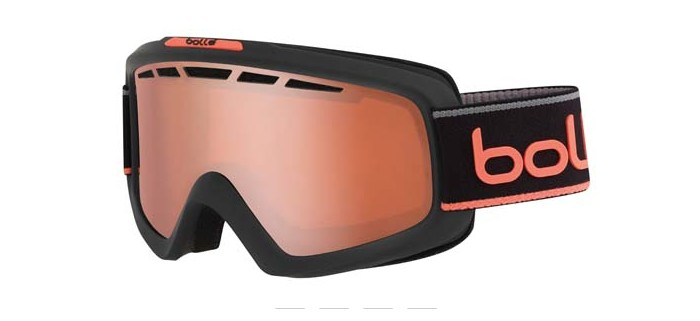 Masque de ski bolle nova 11 matte grey & neon orange nxt modulator citrus gun 21674