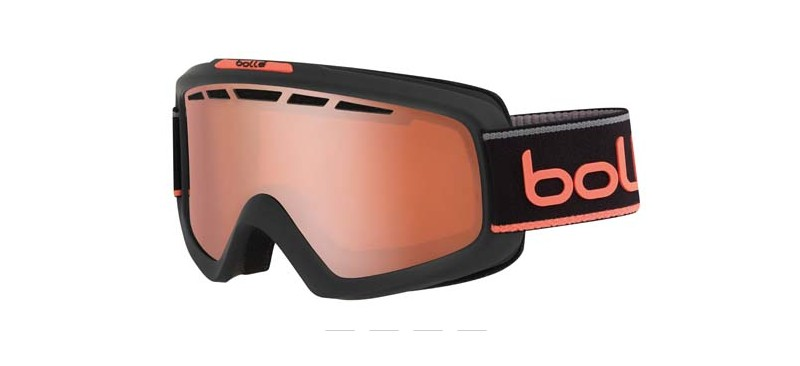 Masque de ski bolle nova II matte grey & neon orange nxt modulator citrus gun 21674