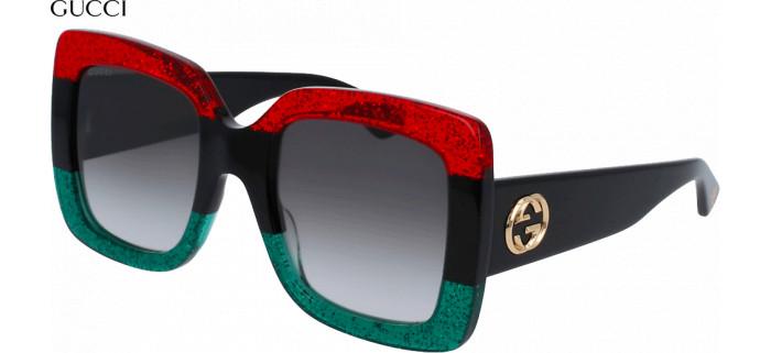 Gucci グッチ GG0083S 001 55 サングラス ブラック
