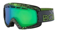 Masque de ski bollé nova 11 matte green zenith modulator nxt green emerald 21677