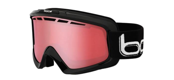 Masque de ski bollé nova 11 skiny black polarized vermillon 21333