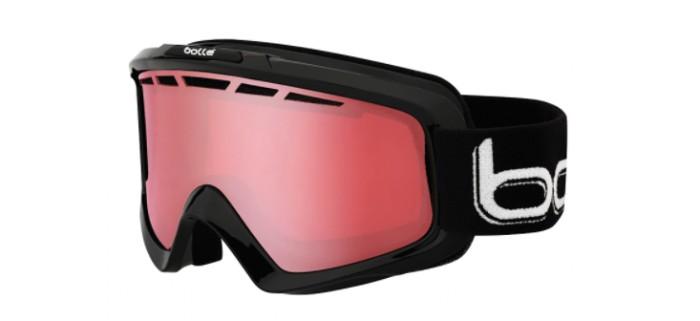 Masque de ski bollé nova 11 skiny black vermillon gun 21083