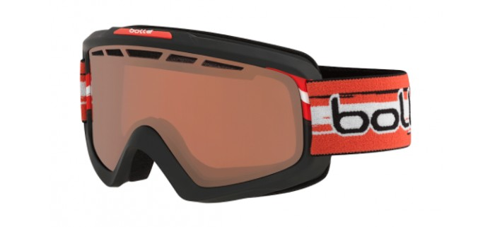 Masque de ski bollé nova 11 matte austria limited edition vermillon gun 21689