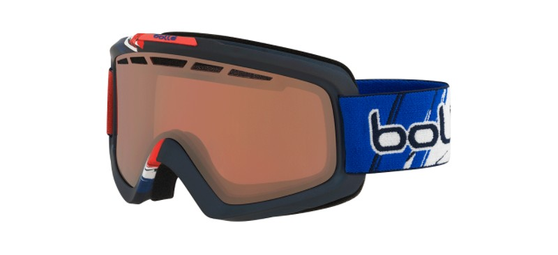 Masque de ski bolle nova 11 matte france limited edition vermillon gun 21691