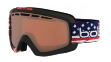 Masque de ski bolle nova 11 matte usa limited edition vermillon gun 21693