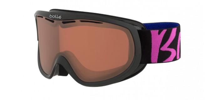 Masque de ski bolle sierra black & pink vermillon gun 21658