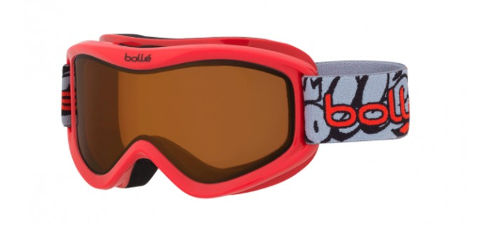 Masque de ski bolle volt red grafitti citrus dark 21582