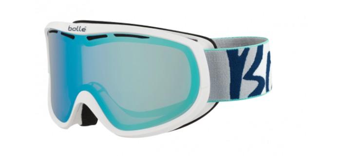 Masque de ski bolle sierra white & mint aurora 21656