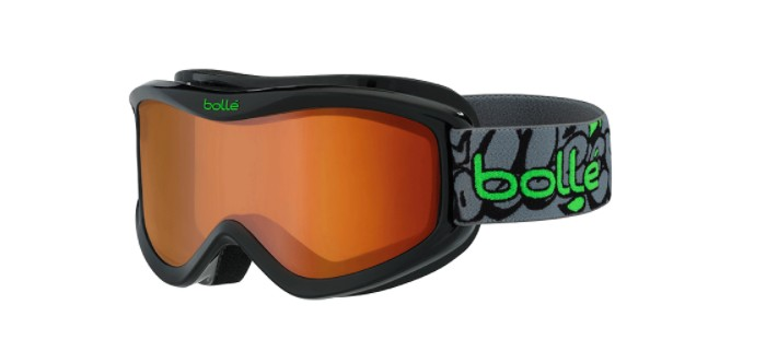 Masque de ski bolle volt black graffiti citrus dark 21507