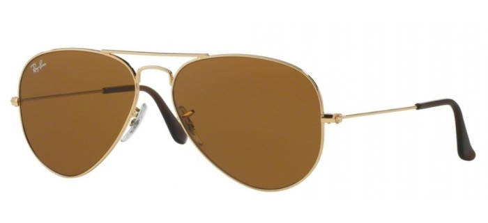 Lunette de soleil ray-ban aviator RB 3025 001/33 55