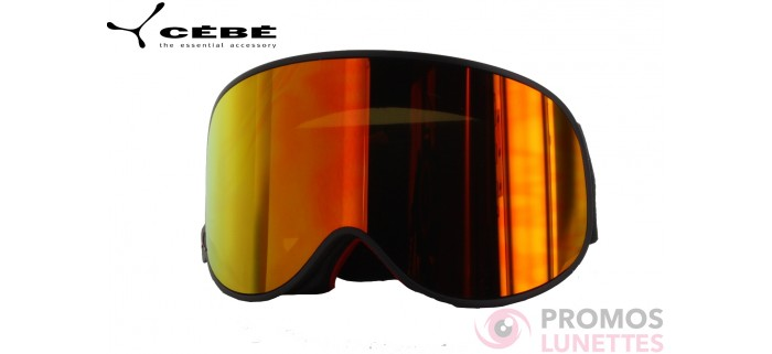 Masque de ski cebe attraction matt black blue