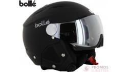 Casque De Ski Bolle Backline Visor Soft Black Silver With 1 Silver