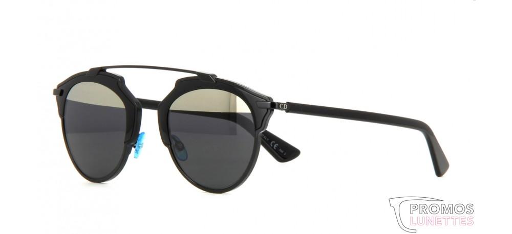 la plus récente technologie prix incroyable esthétique de luxe Lunette de soleil Dior so real B0Y (MD) Black | Grey Mirror ...