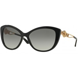 1ebef0bad639d4 Versace Lunettes de soleil VE4285 Acétate Noir - Or