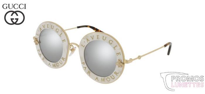 Lunettes de soleil Gucci GG0113S-001 44
