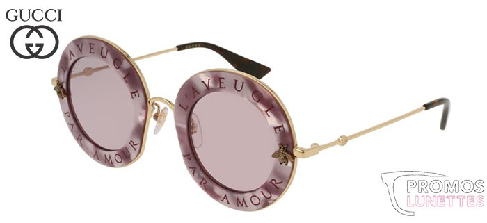 Lunettes de soleil Gucci GG0113S-005