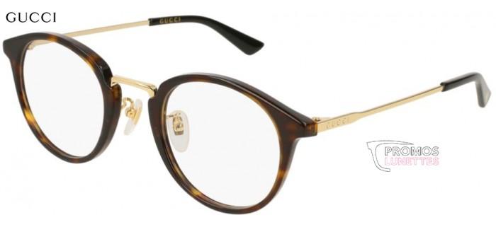 lunettes de vue l Gucci  GG0322O-002 en taille 49