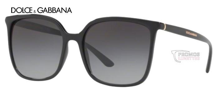 Lunette de soleil Dolce Gabbana DG6112 501/8G 56