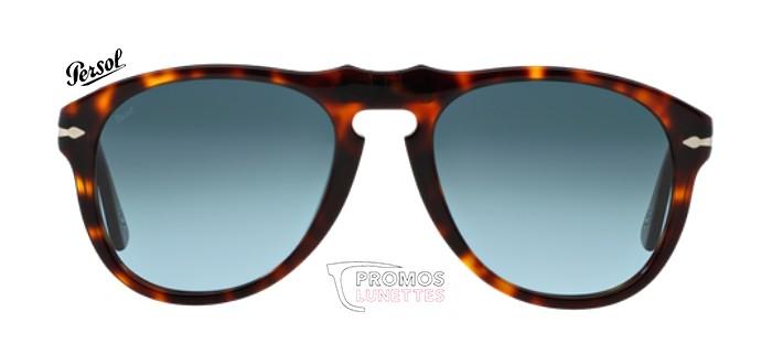 Lunettes de soleil Persol PO 0649 24/86 en taille 52