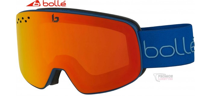 Masque de Ski Bollé Nevada Matte Blue