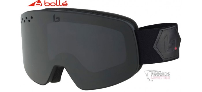 Masque de Ski Nevada Matte Black Corp Grey