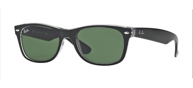 Lunette de soleil ray-ban new wayfarer color mix RB 2132 6052 52 47dwU44T