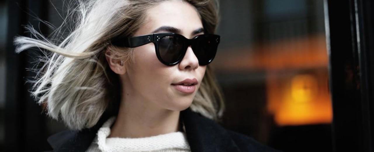 la lunette de soleil Céline   Découvrez la collection Baby Audrey ! 15331d81bd2a