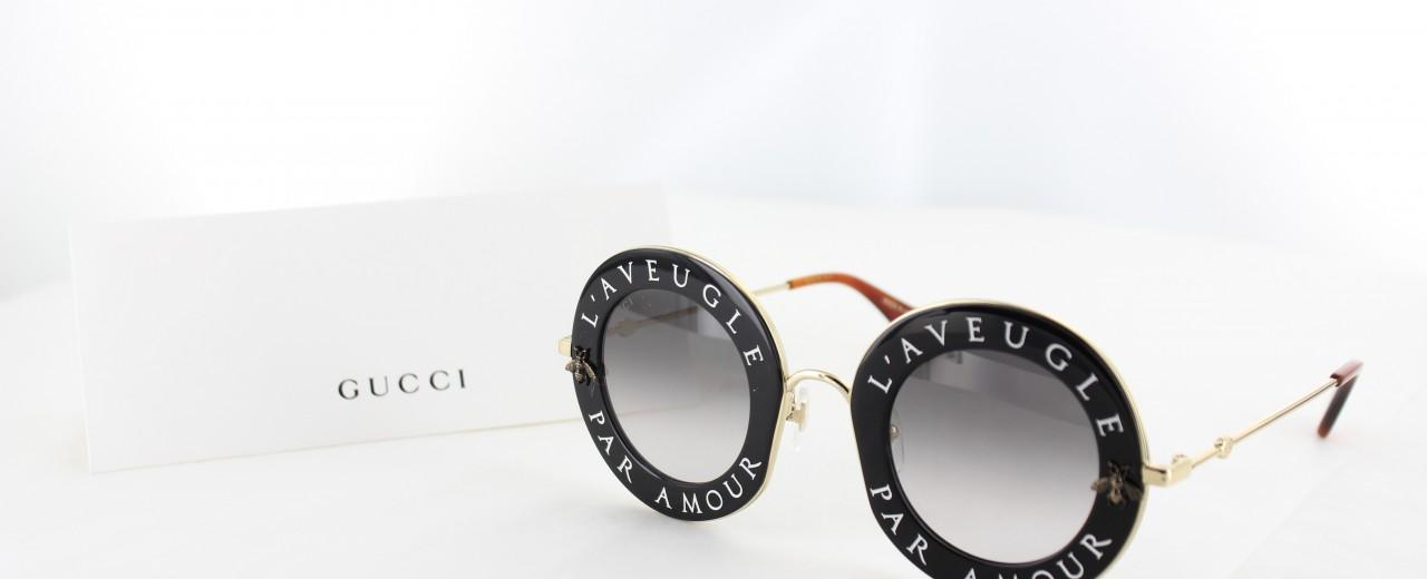 PromosLunettes   Lunette de soleil Gucci femme   Flash sur le modèle ... 45b5ef502faa