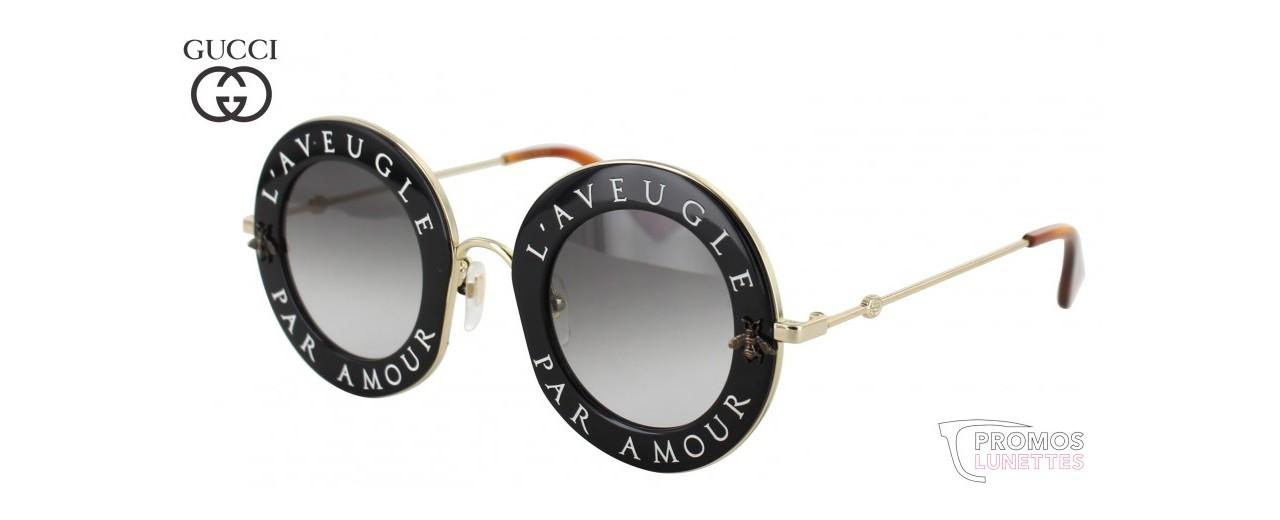 cffb88bb82ffd Lunette Gucci L aveugle Par Amour Prix